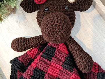 Miss Moose Blanket Buddy