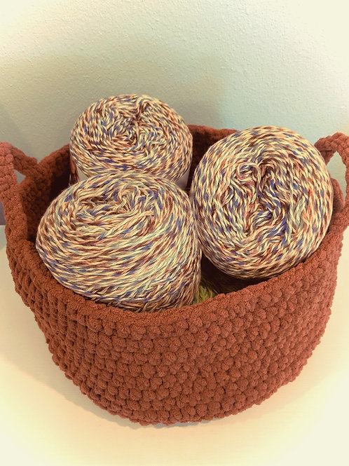 One Skein Basket Pattern