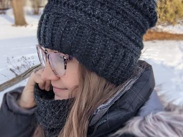 Winter Stroll Hat & Cowl