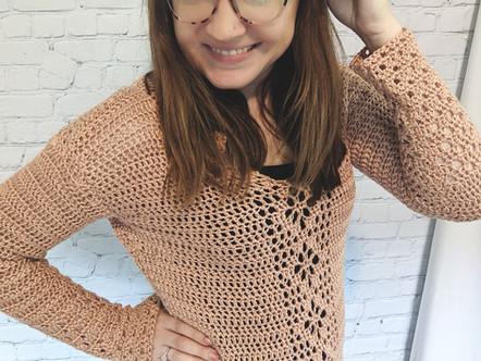 Babylon Sweater by Cecilia Esparza
