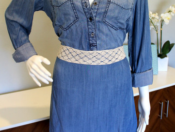 Lacework Crochet Belt