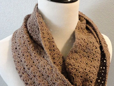 On the Edge- Shell Infinity Scarf