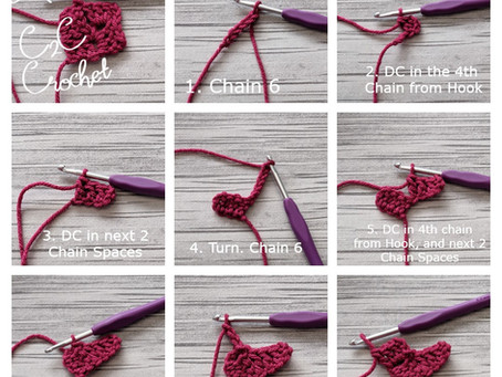 How to Corner to Corner (C2C) Crochet (Video and Image Tutorial)