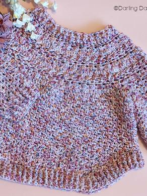 Jasmine Sweater (Design by Mon Petit Violon) Baby/Children