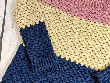 Cozy Color Block Sweater