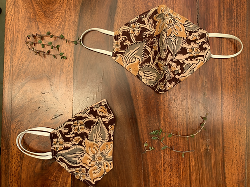 Kalamkari Mask (Set of 2)