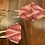 Thumbnail: Strawberry Ikat Mask (Set of 2)