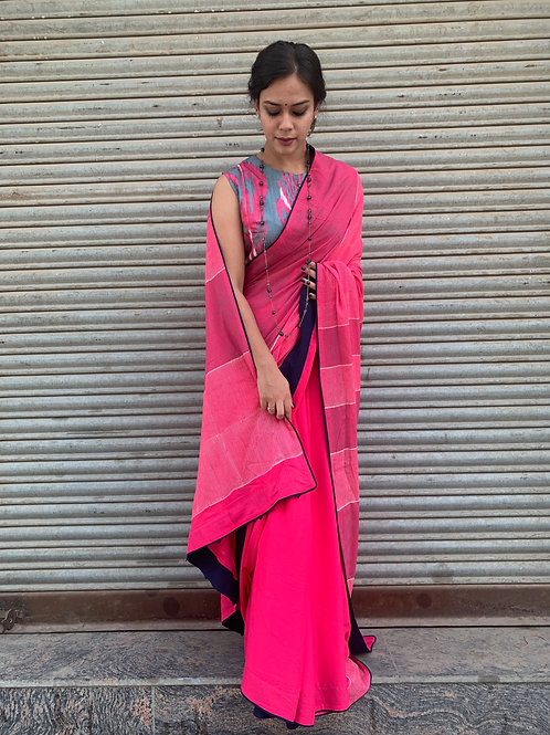 Rose Romance Saree