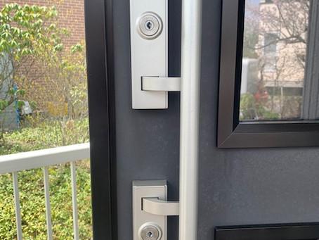 【帯広 玄関鍵】玄関ドアの鍵が不調の為、作業しました。