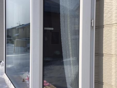 【旭川 窓鍵】窓のハンドル不調の為、部品交換をしました。