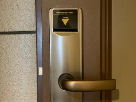 【旭川 玄関鍵】玄関ドアの鍵をテンキー式タイプへ交換しました。