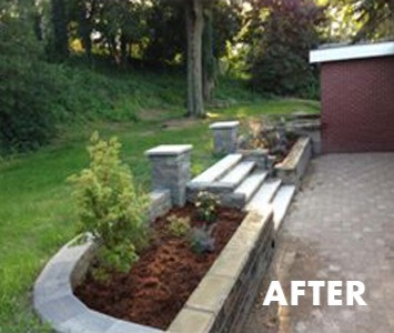 HARDSCAPING AFTER
