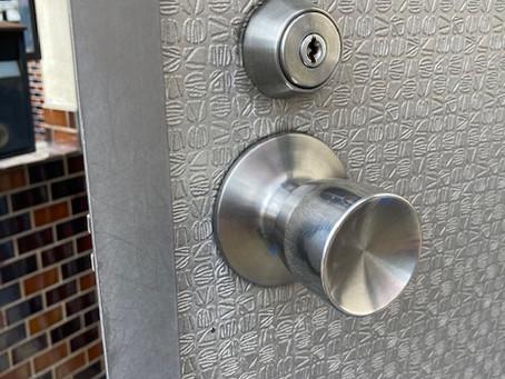 【帯広 玄関鍵】玄関ドアの鍵穴が不調