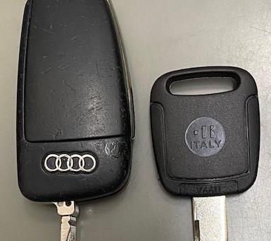 【帯広 車鍵】アウディA4合鍵作成しました。