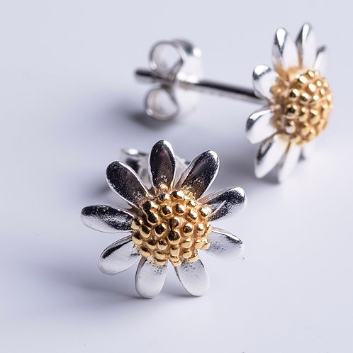 Silver & Gold Sunflowers