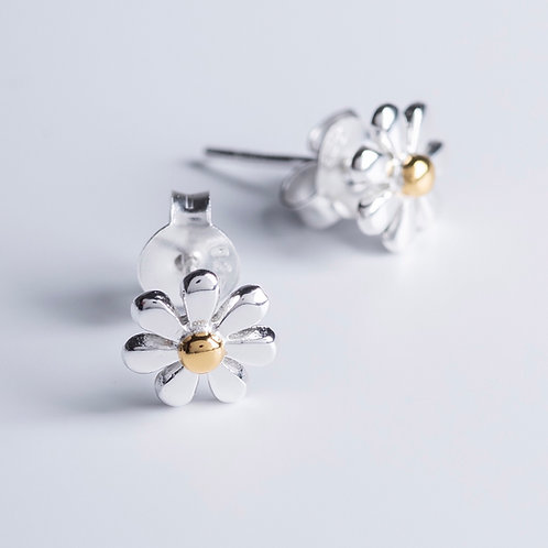 Gold & Silver Daisies