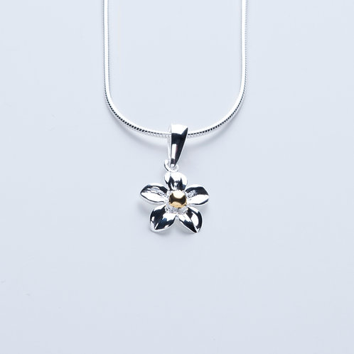 Silver & Gold Flower