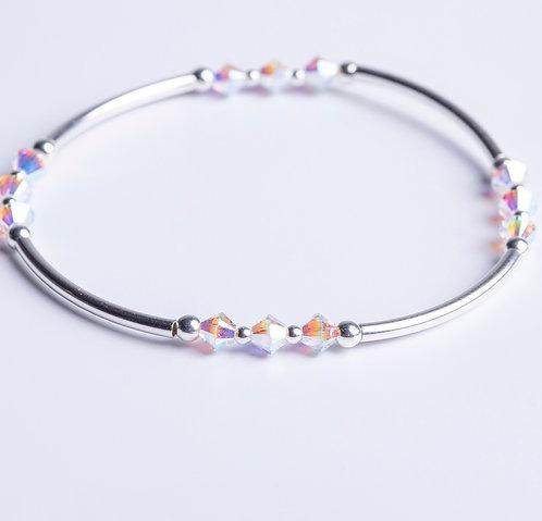 Clear Crystal Sparkle Bangle