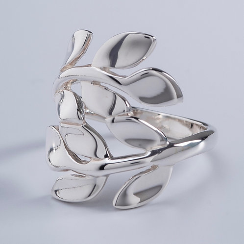 Wrap Around Leaves Ring