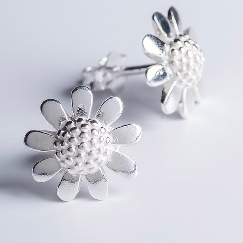 Silver Sunflowers