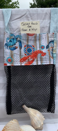 WP Lg Beach Combing Bags: Crabs & Lobsters