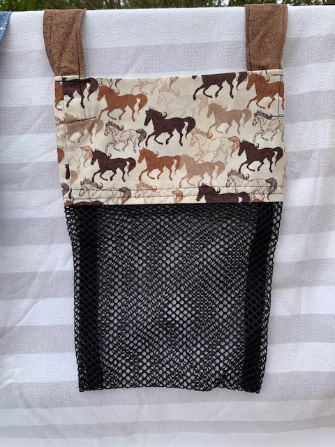 Small (Kid Size) Beach Combing Bags: Horses