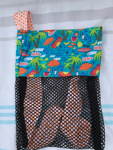 Small (Kid Size) Beach Combing Bags: Beach Life