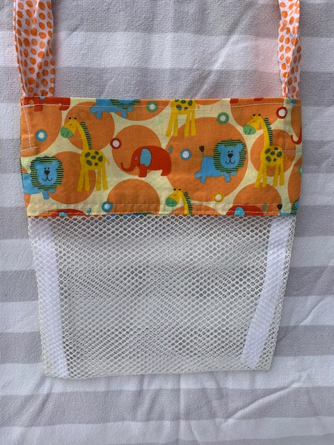 Small (Kid Size) Beach Combing Bags: Safari