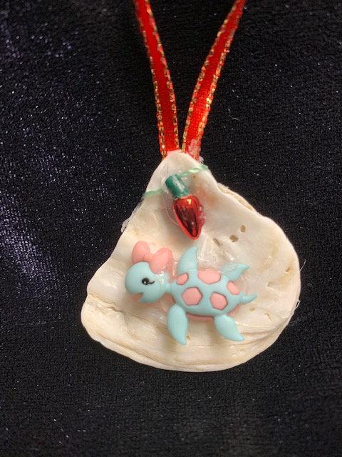 Seashell Ornaments: Seaturtle