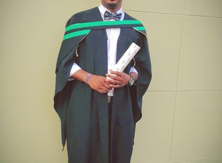 Congratulations to Sheldon Chinsamy