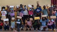 Ward 58 - School shoes donation