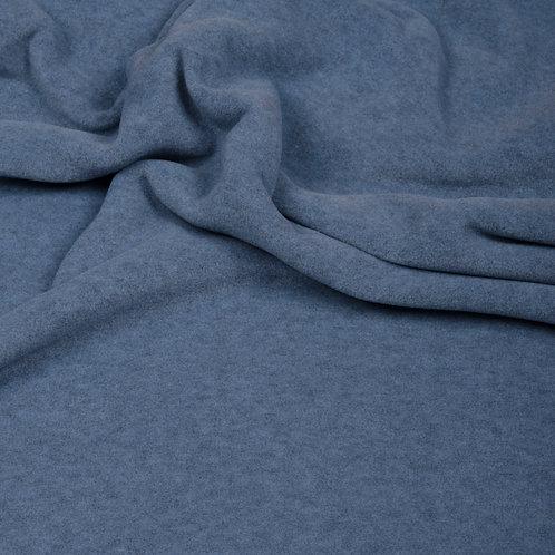 Hilco Fleece melange, helles jeansblau