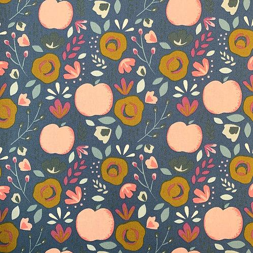 beschichtete BW Äpfel, blau