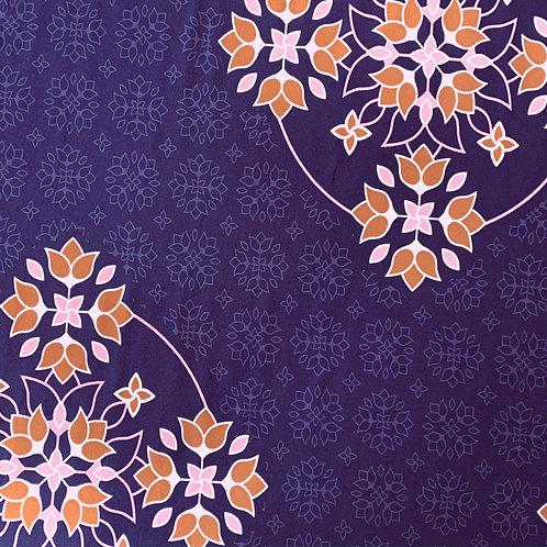 Big floral Ornaments by lycklig design, lila