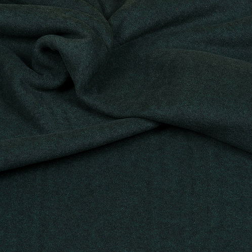 Hilco Fleece melange, dunkelgrün