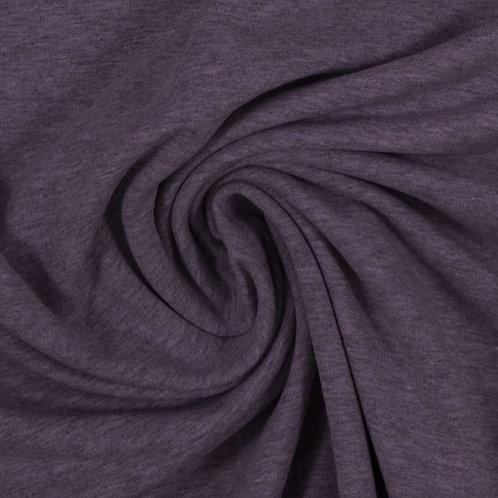 Sommersweat meliert, violett
