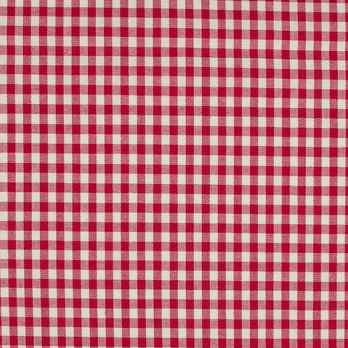 Vichy-Karo 5mm, rot-weiß