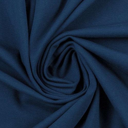 Jersey jeansblau