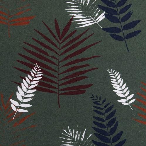 Palmenblätter, dunkelgrün