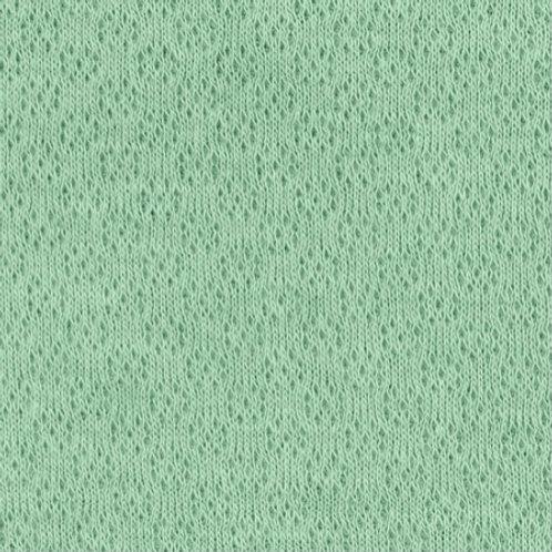 Jacquard-Jersey, altgrün