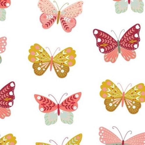 Schmetterlinge, weiß