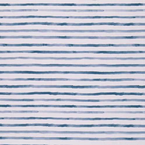 Streifen Ocean Brezen, rauchblau