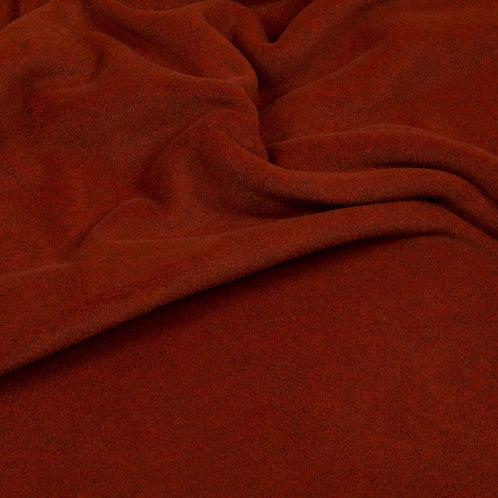 Hilco Fleece melange, terracotta