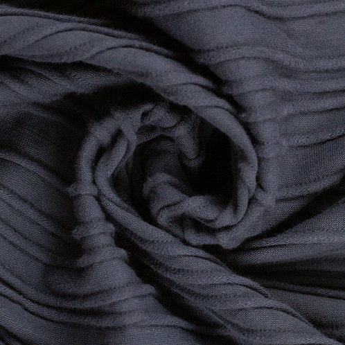 Strukturjersey Peru, dunkelblau