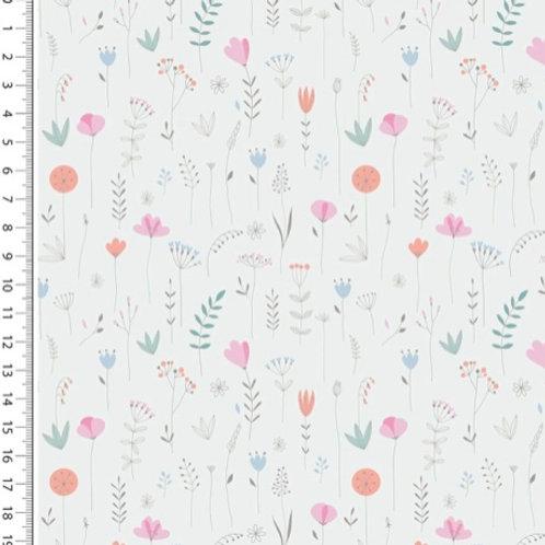 Kleine Blumen, weiß