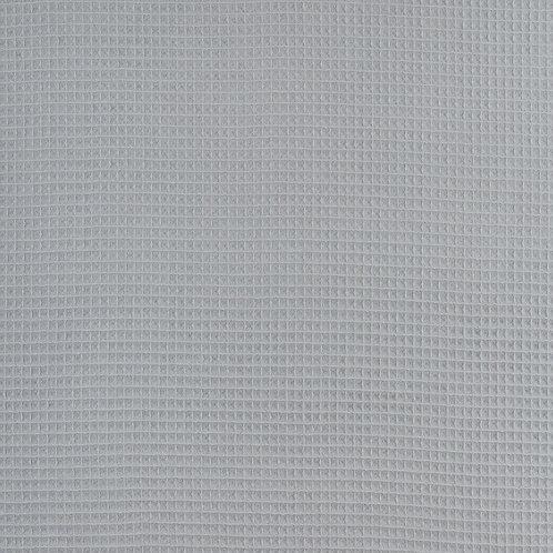 Waffelpique grau
