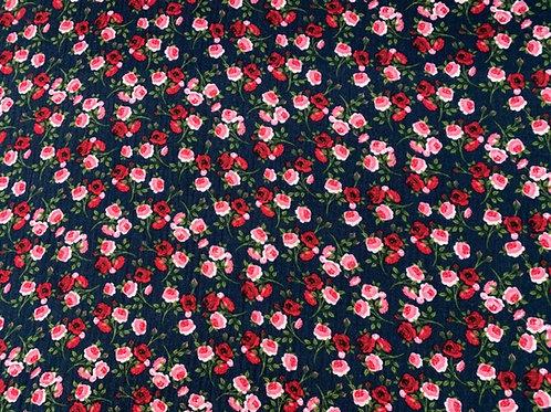 Kleine Rosen, dunkelblau