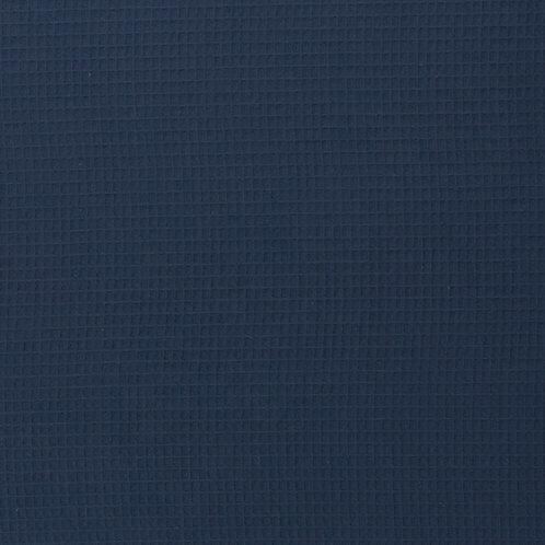 Waffelpique dunkelblau