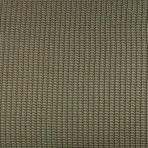 Kabelstrick, khaki