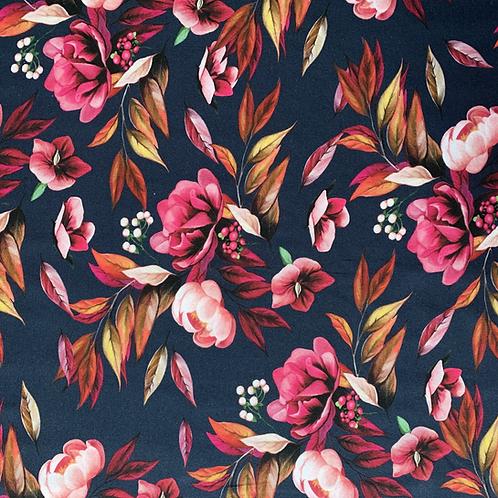 Blumen, dunkelblau